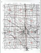 Map Image 017, Mahaska County 1981
